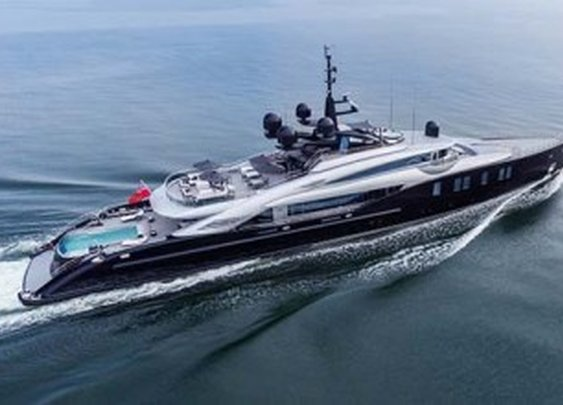 OKTO Luxury Yacht by Italian shipyard ISA Yachts