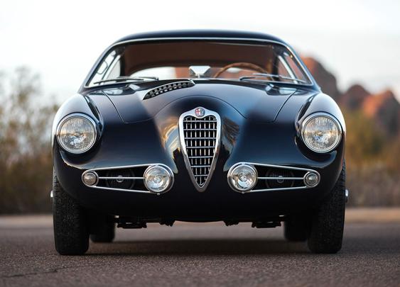 Car Porn: 1955 Alfa Romeo 1900C SS Berlinetta By Zagato - Airows