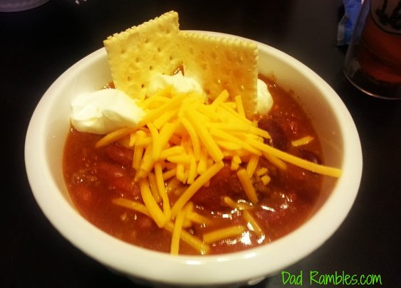 Dad's Rambling Chili Recipe - Dad Rambles | Daddy Blog about life, outdoors, product review, tech stuff
