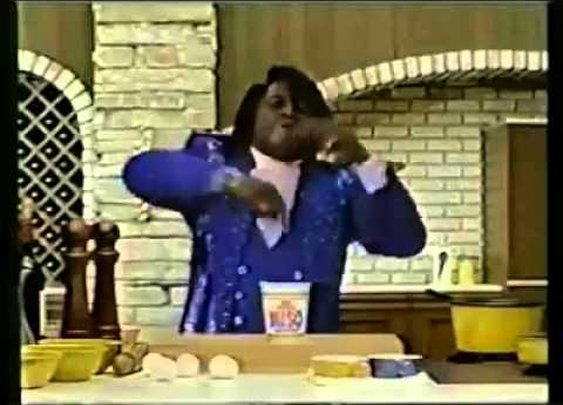 James Brown Ramen Noodle Commerical