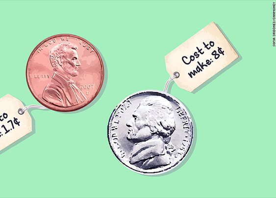 Changing U.S. coins could save millions