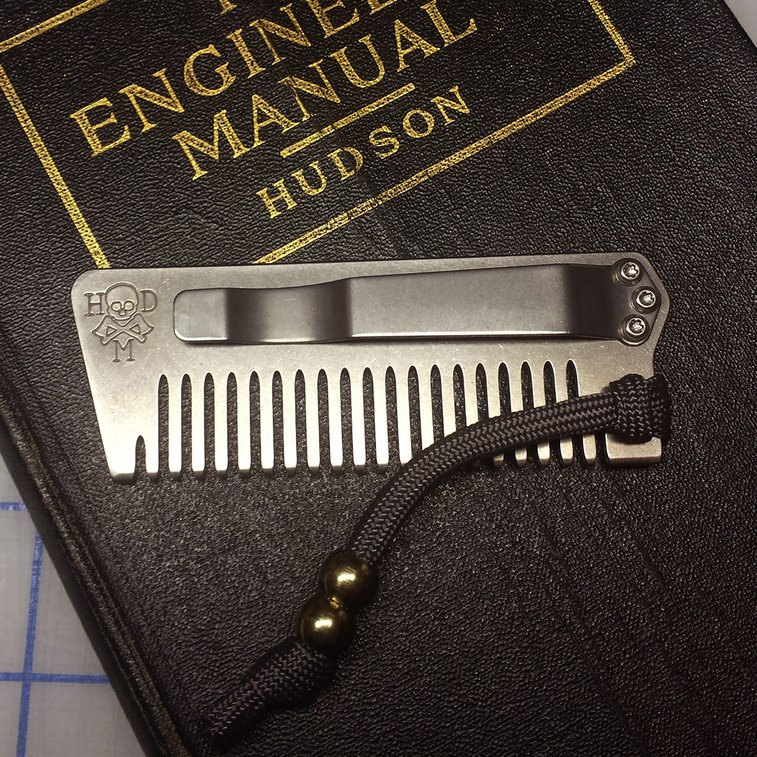 First Look: Tradesman Beard Comb - Loadedpocketz