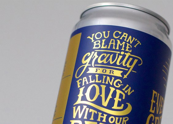Theory Brewing Co. Crowler Design — The Dieline - Branding & Packaging