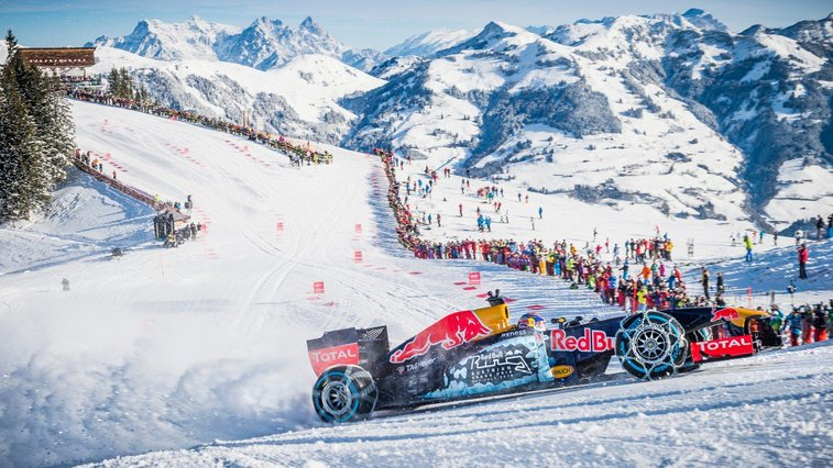 Max Verstappen Drives a Formula 1 Car on a Ski Slope | Outside Online