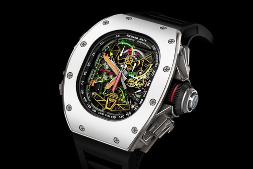 Richard Mille x Airbus ACJ RM 50-02 Tourbillon Watch - BonjourLife