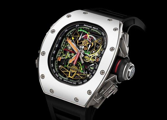 Richard Mille x Airbus ACJ RM 50-02 Tourbillon Watch - BonjourLife
