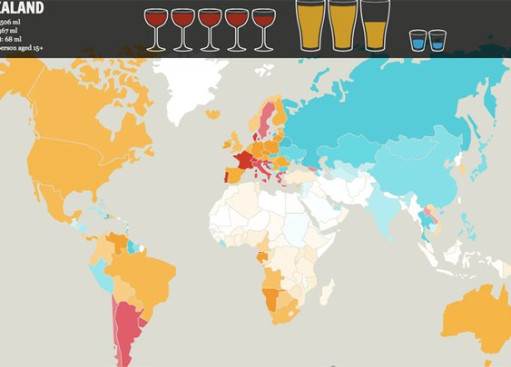 10 Food and Beverage Maps