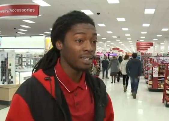 Target cashier goes viral thanks to kindness to customer