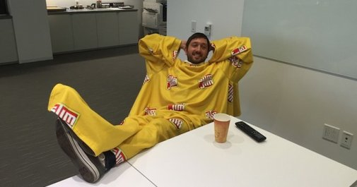 Here's What Happens When You Wear A Slim Jim Snuggie For A Week Straight - Mandatory