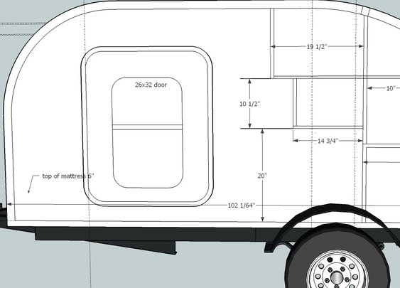 How to Build a Teardrop Camper #1 - The Template - YouTube