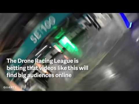 Drone racing @ Miami Dolphins stadium