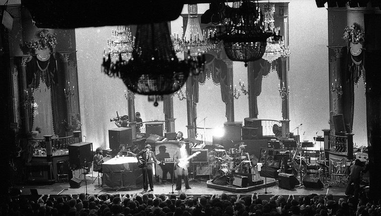 Long-lost photos from The Last Waltz concert discovered amid dust