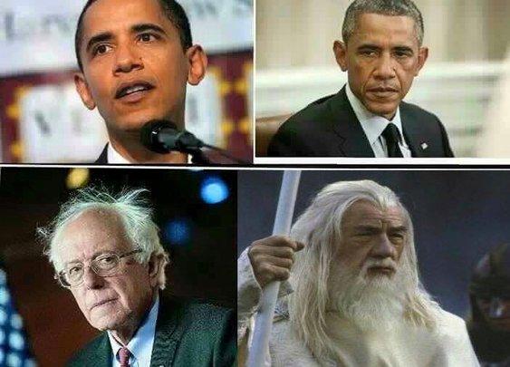 Bernie Sanders' Surprising Aging Process - Imgur