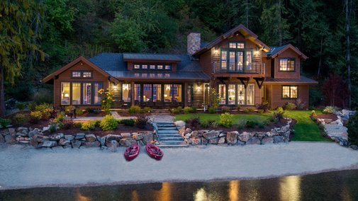 Lake House in Sandpoint, Idaho