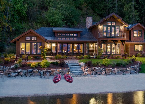 Lake House in Sandpoint, Idaho
