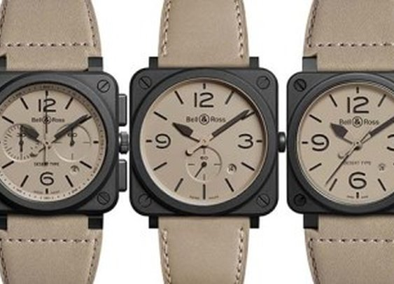 Bell & Ross Desert Type Watch Collection