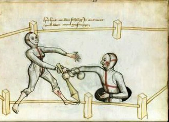 Marital Duels from 1400s