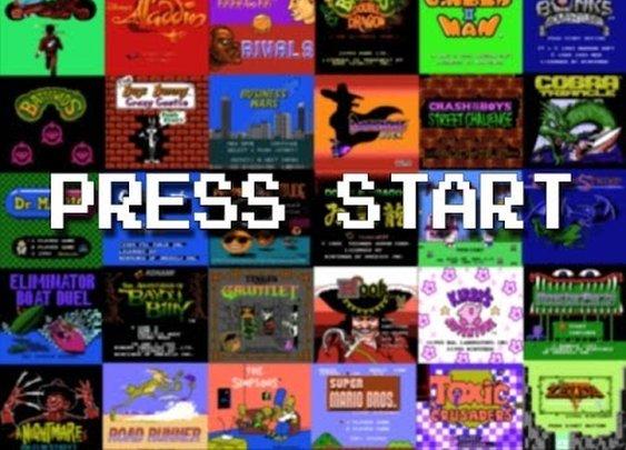 EVERY SINGLE Nintendo (NES) start screen in alphabetical order!!!