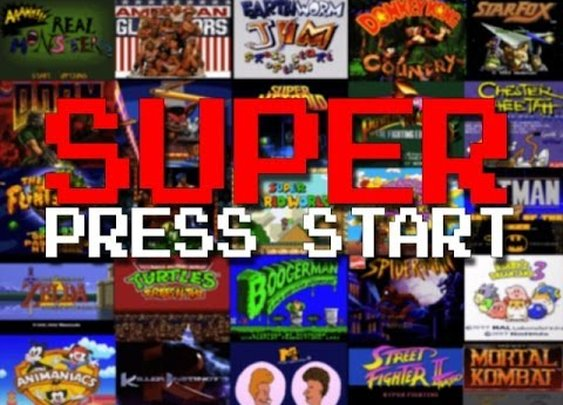 EVERY SINGLE Super Nintendo start screen in alphabetical order!!!