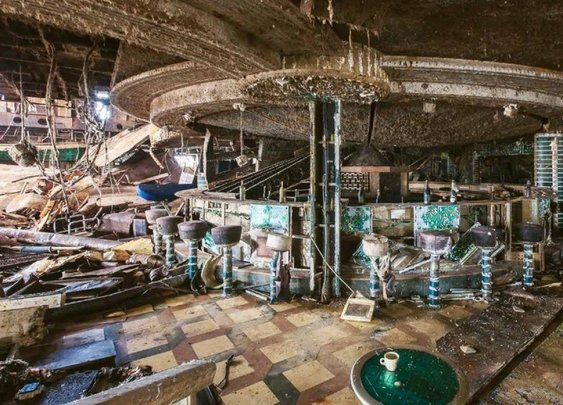 Inside the Rotting Wreck of the Costa Concordia | Outside Online