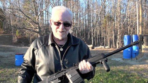 "Full ""auto"" 12 Gauge - Saiga 12 Gauge Slide Fire Shooting - YouTube"