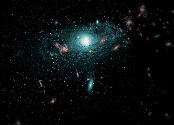 Hundreds of Hidden Galaxies Glimpsed Behind Milky Way