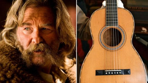 145-Year Old Martin Guitar Violently Smashed While Filming Tarantino Movie