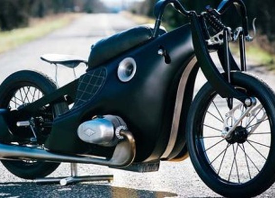 The Henne inspired BMW Landspeeder by Revival Cycles