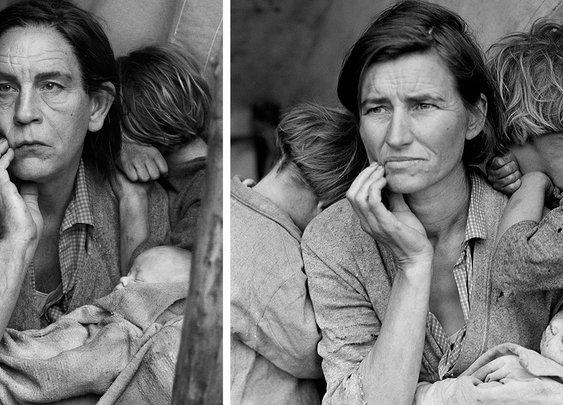 Photographer Recreates Iconic Photos With John Malkovich As The Main Subject