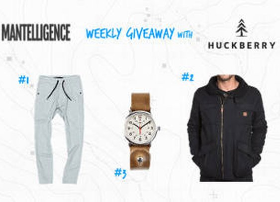 Huckberry Giveaway: win any item currently available (2 winners)