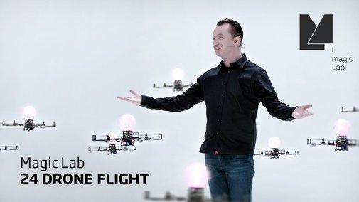MagicLab - 24 Drone Flight - YouTube
