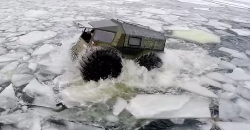 Russia Built The Most Perfect All Terrain Vehicle To Ever Grace Earth