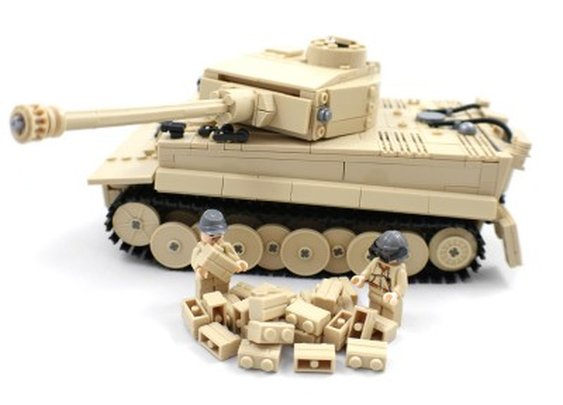 German Tiger Tank - Lego Compatible