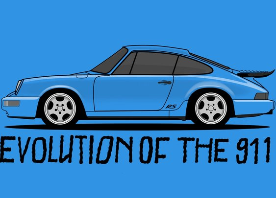 Evolution of the Porsche 911