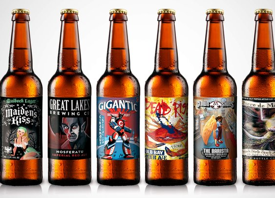 Best Beer Labels - Craft Beer Label Art