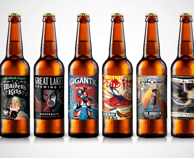 best craft beer best labels craft label gentlemint 1126