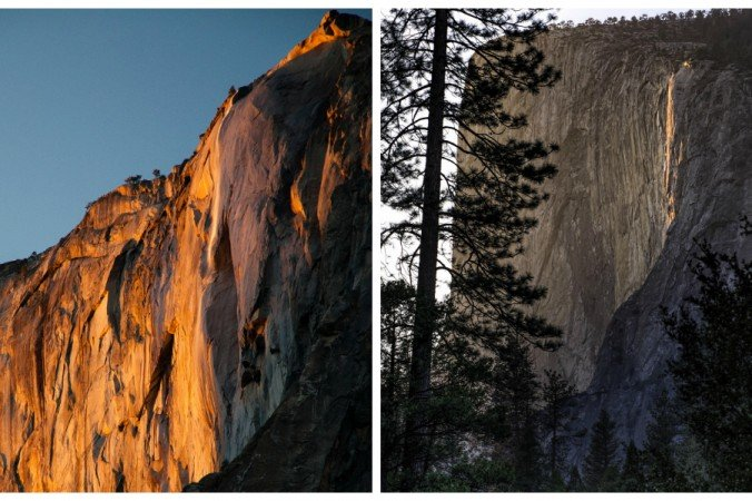 Photographers Capture Yosemite Firefall Phenomenon in California