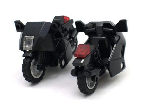 Minifigure Motorcycles - Lego Compatible