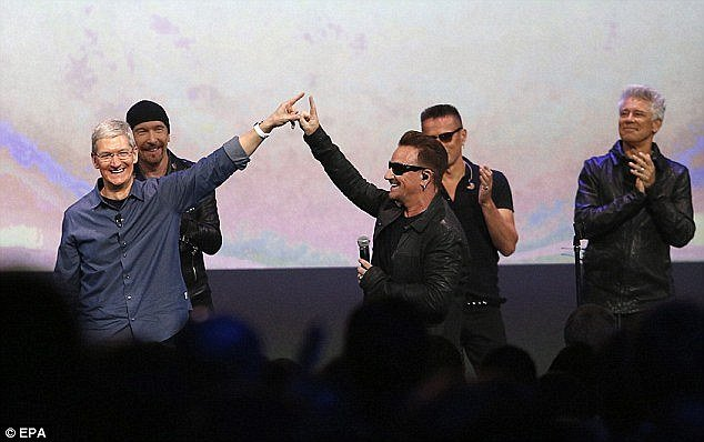 FBI asks U2 how they managed to get into everyone's iPhone