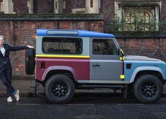 A Closer Look At Sir Paul Smith's Bespoke Land Rover Defender