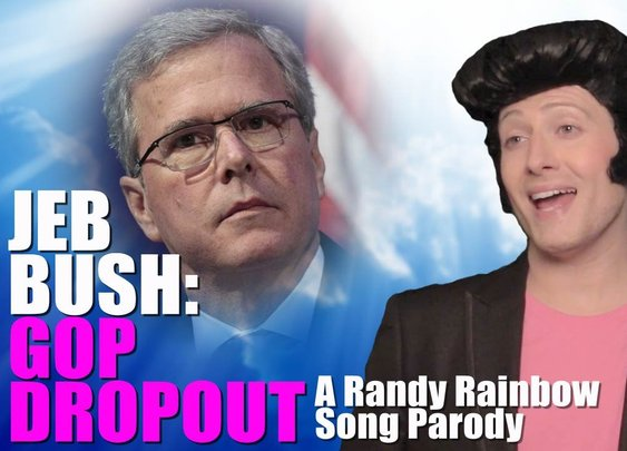 "Jeb Bush ""GOP DROPOUT"" - Song Parody by Randy Rainbow"