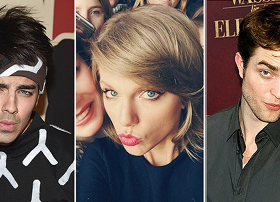 Taylor Swift, Robert Pattinson & Other Celebs Working Their Blue Steel Game. What's going on?