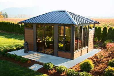Barcelona 11 x 14 Gazebo  - Gazebos - The Great Escape