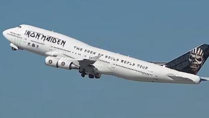 Iron Maiden's Plane Is Too Heavy For Dortmund Airport - Blabbermouth.net