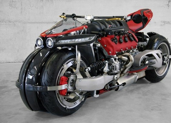 Lazareth LM 847 – If Frankenstein had a bike, this would be it.
