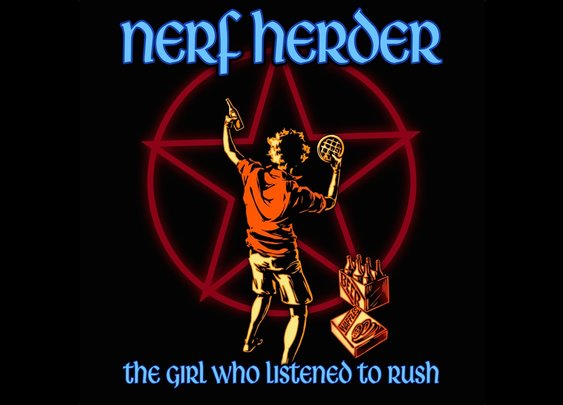The Girl Who Listened To Rush - Nerf Herder lyric video - YouTube