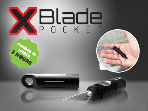 X-Blade Pocket by Cliff — Kickstarter