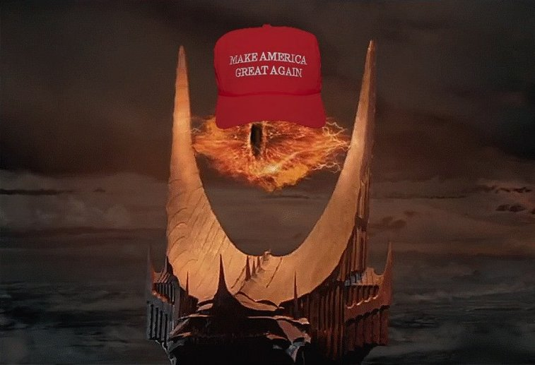 Sauron Endorses Donald Trump for President