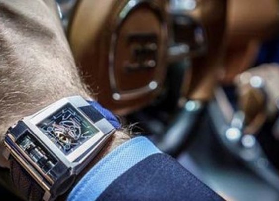 PF-Bugatti 390 Concept Watch From Parmigiani Fleurier