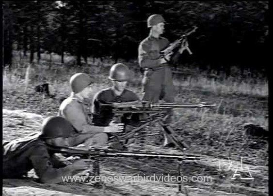 World War 2 Machine Gun Shootout: US versus German (1945) - YouTube